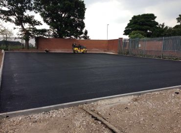 South Staffs Water PLC, Fradley- New Car Park Works