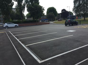 Buxton Road- New Car Park Works