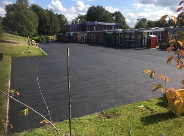 Lindens Primary School, Sutton Coldfield- New Playground & Carpark Works
