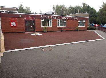Short Heath Junior School, Walsall- Tarmac Works