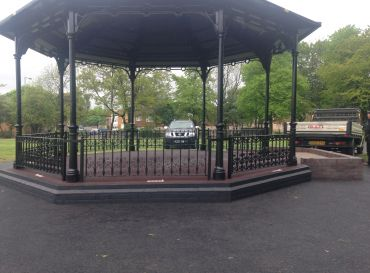 George Rose Park, Walsall- Bandstand