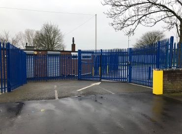 Castle Business and Enterprise College- New Gates and Fencing