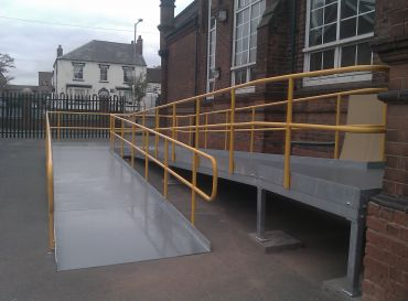 Elmore Green Primary School, Walsall- Access Ramp