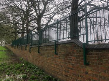 Heath Lane Cemetery- Fencing Works
